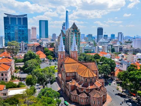 La ciudad vietnamita de Ho Chi Minh [RE]