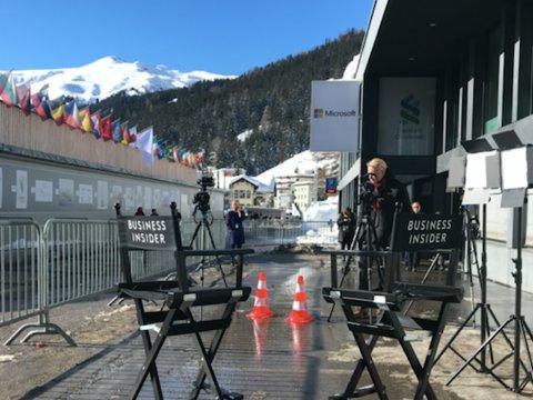 La estación de Davos