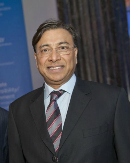 El magnate indio del acero, Lakshmi Mittal