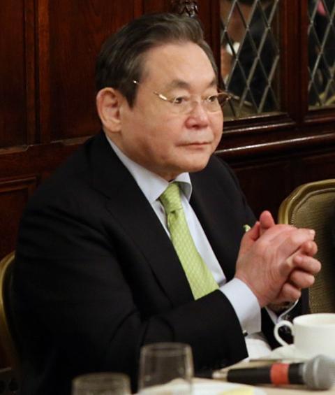 El presidente de Samsung, Lee Kun Hee