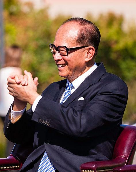 El multimillonario hongkonés Li Ka-Shing