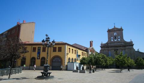 Convento de San Pablo en Palencia (Castilla y León).