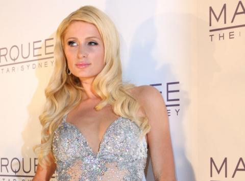 Paris Hilton, en un evento.