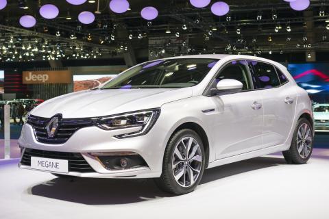 Renault Megane, uno de los modelos más exitosos de la marca francesa