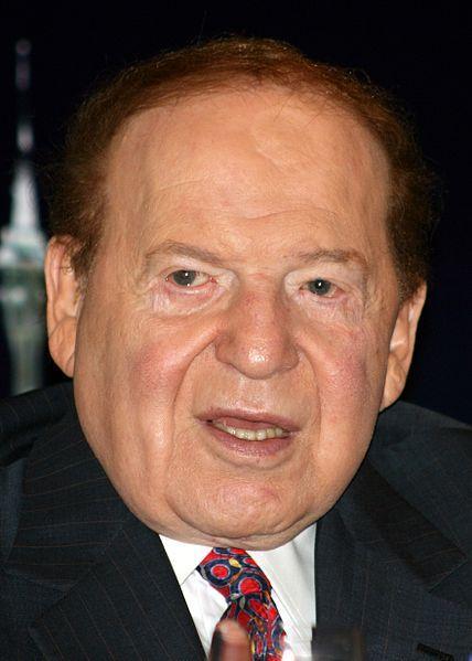 El magnate de los casinos Sheldon Adelson