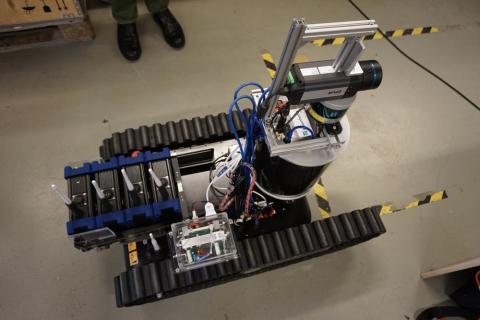 Robot de rescate de Smoke Bot
