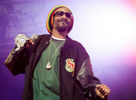 Snoop Dogg en 2012.