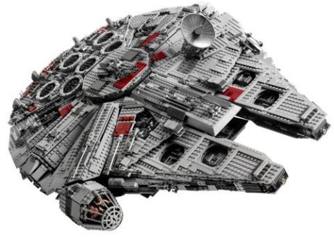 Ultimate Collector's Millennium Falcon lego