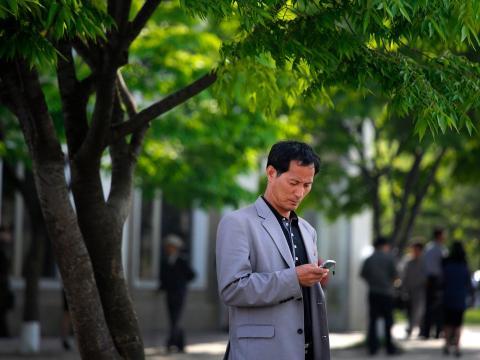 Uno de cada 10 norcoreanos tiene un smartphone