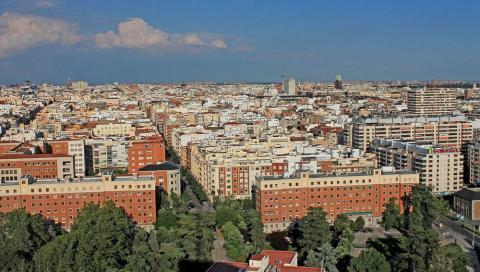 Vista de Chamberí, Madrid