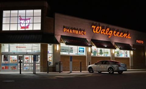 Wallgreens tienda