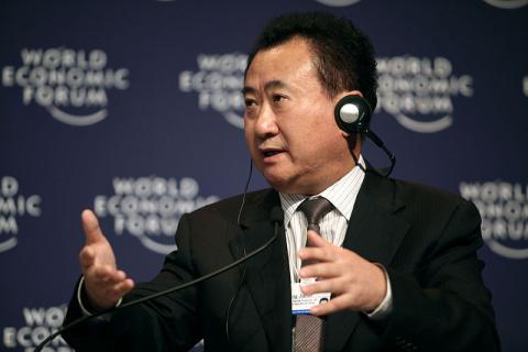 El fundador y presidente de Dalian Wanda, Wang Jianlin