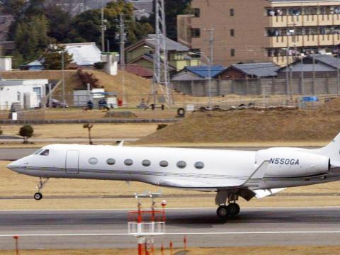The Gulfstream GV debuted back in 1998. In 2004, Gulfstream introduced an updated version of the plane called the G550.