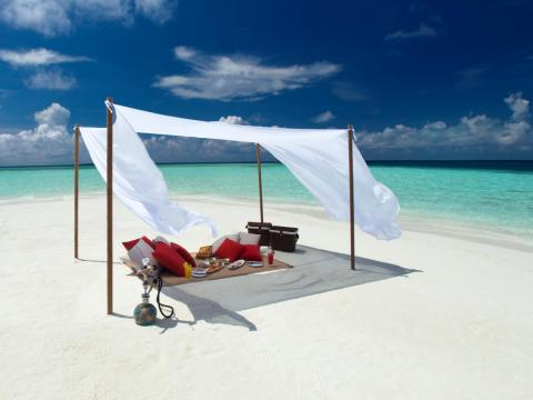 And if those options aren't enough, guests can also opt for a secluded beach picnic.