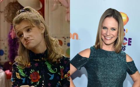 "Andrea Barber apareció en el clásico televisivo de los 90 ""Padres forzosos""."