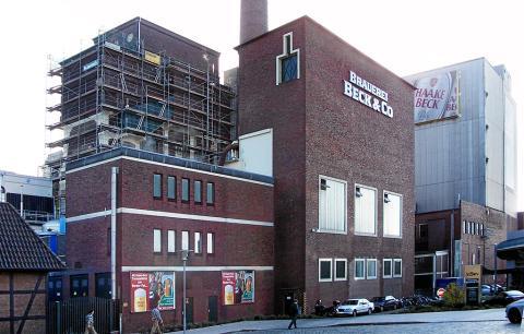 Planta de cerveza Beck's en Bremen (Alemania) de Anheuser-Busch InBe