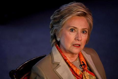 La ex Secretaria de Estado de los Estados Unidos y candidata a la Presidencia, Hillary Clinton, fue objeto de al menos dos reuniones.