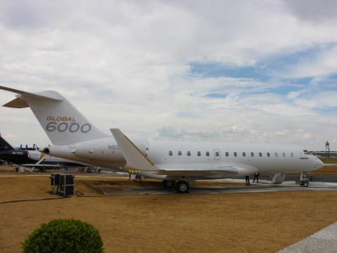 Before the arrival of the Global 7500, the $62 million Global 6000 served as the Canadian jet maker's flagship product.