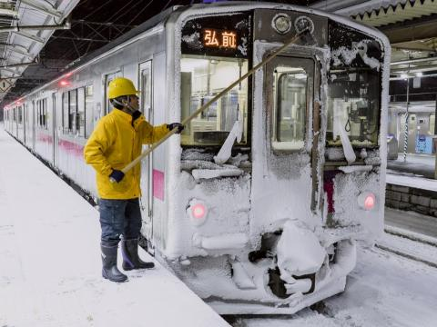 Because of the smaller population size, the public transportation system in Aomori is less extensive as infrastructures in Tokyo and other larger cities.
