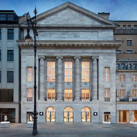 In Berlin, Apple installed a store in an opera house that dates back to 1913.