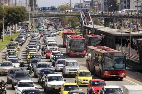 In a 2017 INRIX Global Traffic Scorecard, Bogota was ranked the 6th most congested in the world with drivers spending 30% of their time in traffic.