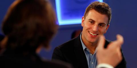 Brian Chesky, Chief Executive Officer of Airbnb, is moving into workspaces.