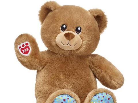 Un oso de peluche de la marca Build-A-Bear.