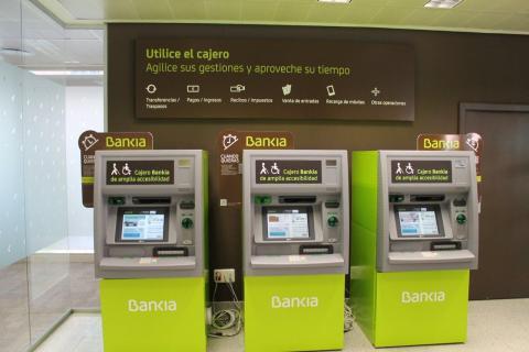 Cajeros automáticos Bankia