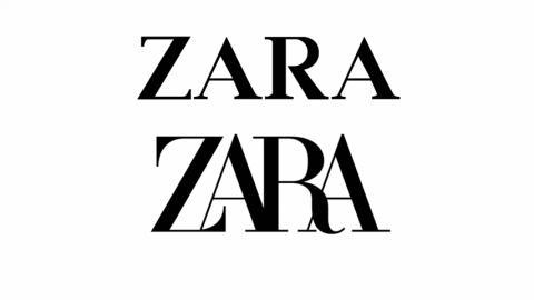 Cambio de logo de Zara