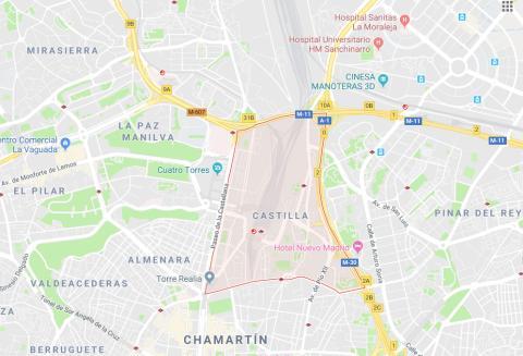 Castilla, 28046 Madrid.