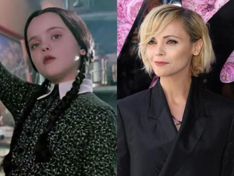Christina Ricci fue Miércoles de Addams.