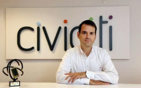 Pablo Sarrias, consejero delegado de Civiciti