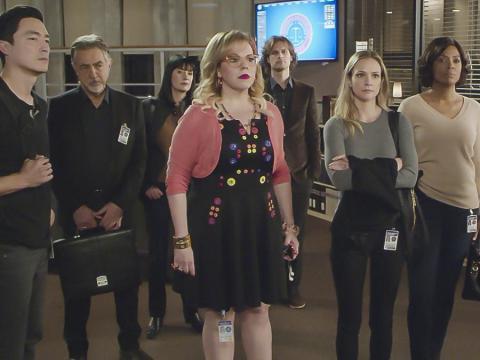 """""""Criminal Minds"""" features a large cast."""
