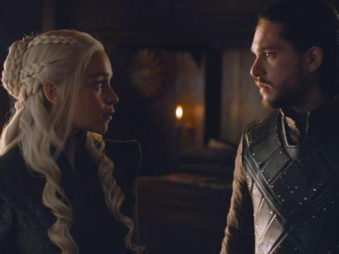 Dany and Jon had sex for the first time on the seventh season finale.