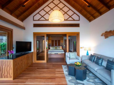 Each one includes a king-size bed, a day couch, and a book nook, as well as a suite-assigned butler on call 24/7.