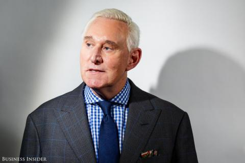 Trump ally and informal campaign advisor Roger Stone