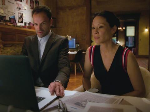 Jonny Lee Miller and Lucy Liu star on the series.