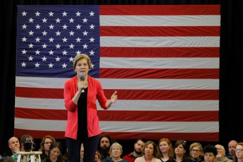 Elizabeth Warren podría presentarse a las primarias demócratas para intentar desbancar a Donald Trump