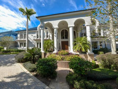 The home has 12 bedrooms spread across 35,000 square feet.