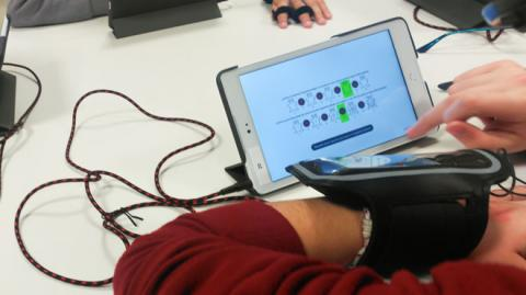 Touch the sound app basada en Realidad aumentada Bq