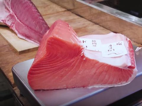 At the first Tsukiji market fish auction of 2013, a bluefin tuna sold for a record-breaking $1.8 million — that's a great deal more than the 2012 highest bid, which set the all-time record at $646,000.
