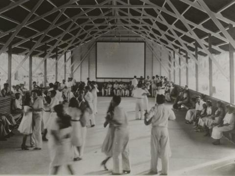 Ford also built a dance hall in hopes that his Brazilian workers would take to square dancing as much as he had.