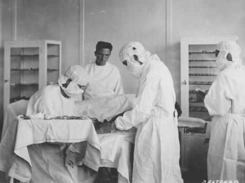 Fordlandia employees received free medical care at the hospital too.