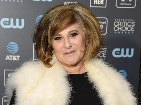 Former Sony Film executive Amy Pascal.