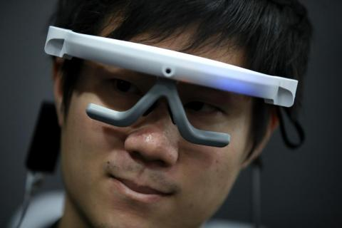 """Ganzin Technology's eye tracking device hope to """"unlock the potential of the eyes as the ultimate interface with the digital world."""""""