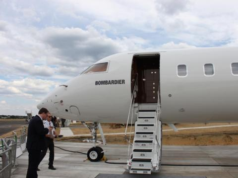 The Global 6000 has a range of more than 6,900 miles.