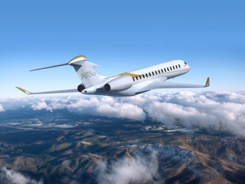 The Global 7500 has a range of just under 8,900 miles.