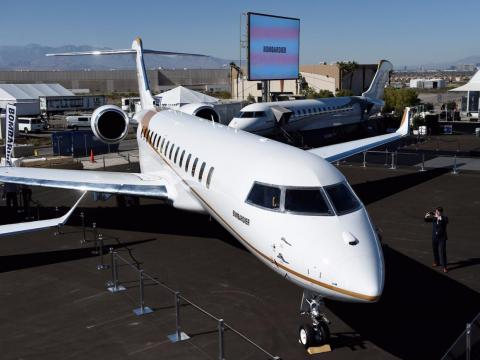 The Global 7500, originally known as the Global 7000, is Bombardier's most expensive offering, at $72.8 million.