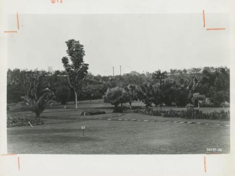 ... a golf course ...