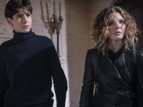 "David Mazouz and Camren Bicondova star on ""Gotham."""